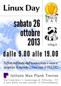 Volantino Linux Day 2013
